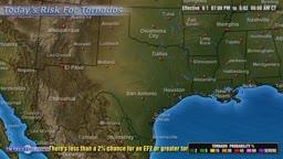 Regional Tornado Outlook Sample