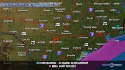 Local Warning Map Sample